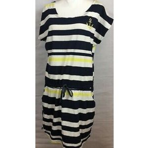 Beach by Exist Striped Dress, Size S, NWT